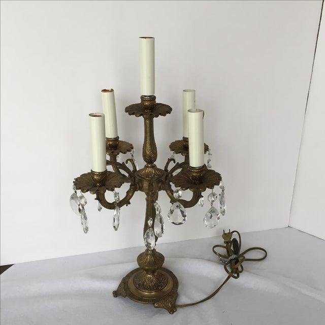 Five Light Candelabra Lamp - Image 2 of 6
