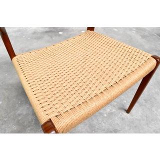 j.l. Møller Model 71/55 Teak & Danish Cord Dining Chairs - Set of 8 Preview