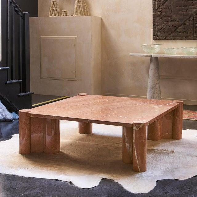 1960s Gae Aulenti Knoll International Marble Jumbo Table For Sale - Image 5 of 5