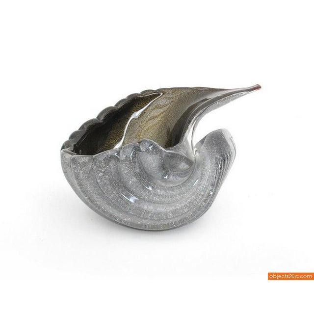 Blown Glass Shell Bowl - Image 2 of 5