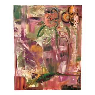 """""""A Floral"""" Abstract Painting by Jj Justice"""