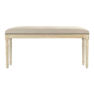 Orchards Bench in Beige For Sale