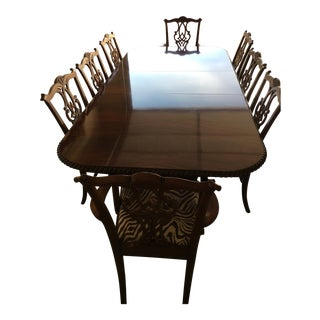 Handcrafted Heirloom Quality Millender Dining Set For Sale