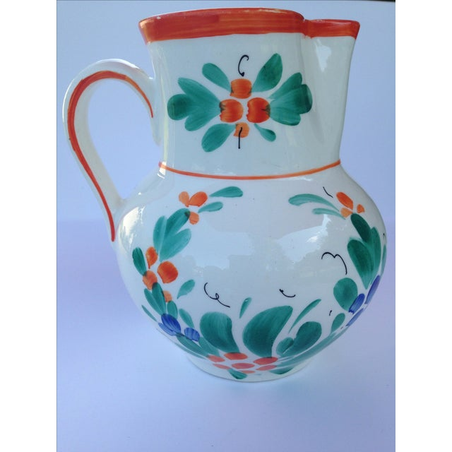 Antique Czech Pottery Creamer - Image 3 of 3