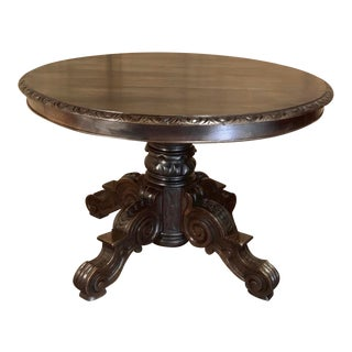 19th Century French Louis XIV Center Table For Sale