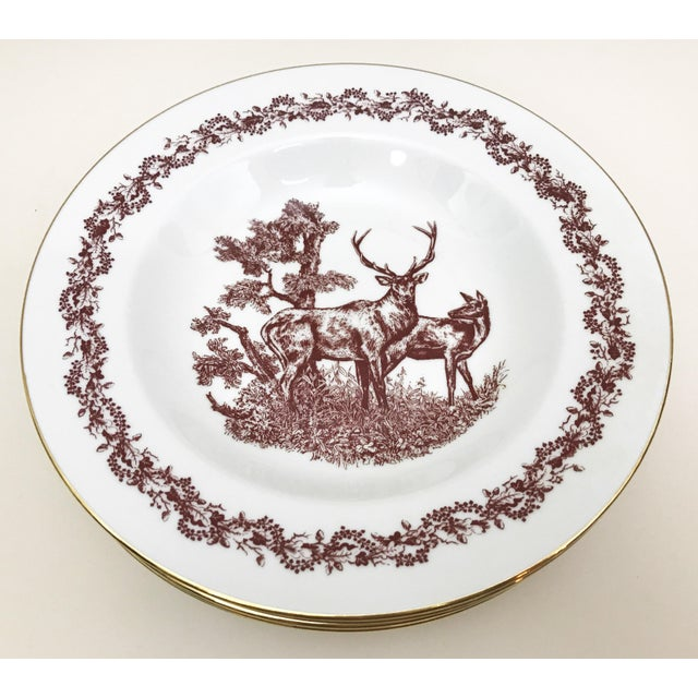 Black Forrest Theme Jlmenau Graf Von Henneberg Dinnerware - 22 Pieces For Sale - Image 4 of 11