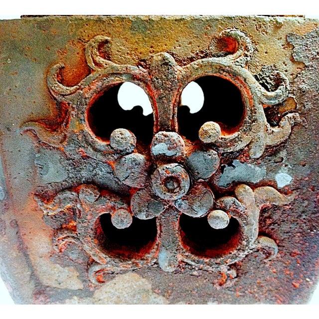 Qing Dynasty Iron Gu Vase Lamps - Pair - Image 3 of 11