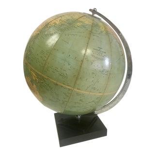 Mid-Century World Globe by Phillips's