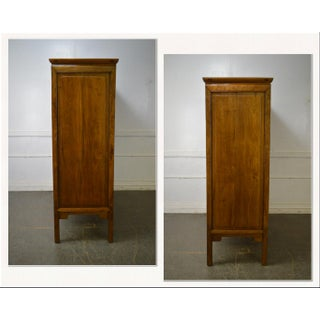 Antique Asian Chinese Hardwood Large 4-Door Cabinet Preview