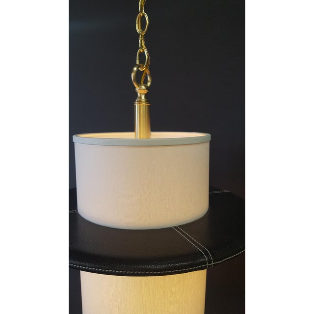 Paul Marra Adnet Inspired Pendant by Paul Marra For Sale - Image 4 of 8