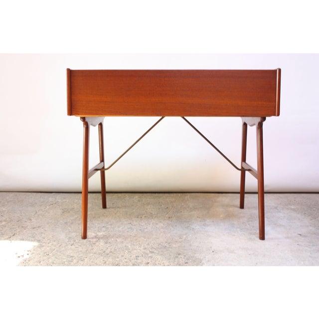Teak and Brass 'Ladies' Desk by Arne Wahl Iversen - Image 7 of 13