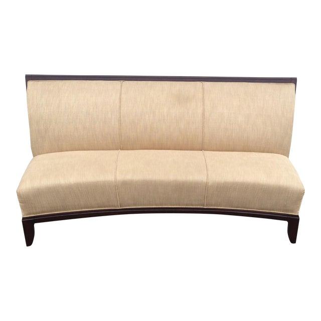 Curved Schnadig Contemporary Sofa