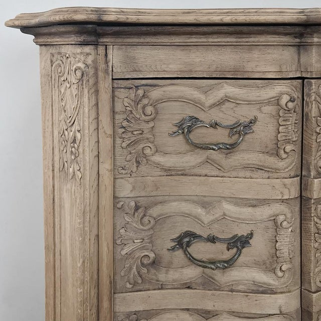 19th Century French Regence Buffet With Faux Drawer Façade For Sale In Dallas - Image 6 of 13