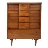 Image of Mid Century Modern Johnson Carper Highboy Dresser For Sale