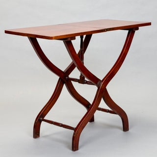 19th Century English Mahogany Folding Table Preview