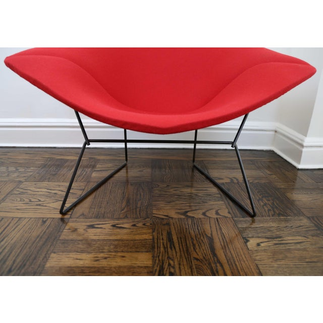 Mid-Century Modern Harry Bertoia for Knoll Diamond Chair For Sale In New York - Image 6 of 8
