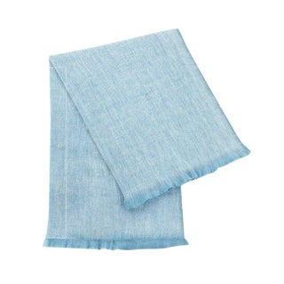 Baby Blue Fuzzy Blanket For Sale