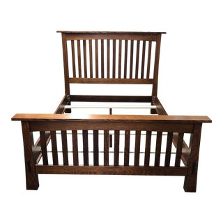 New Missions Works Modesto Queen Size Bed Frame