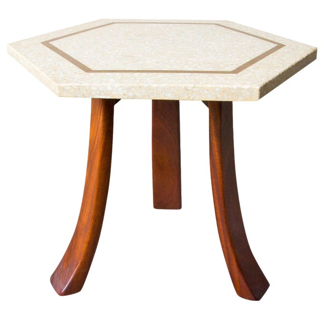 Harvey Probber Hexagonal Side Table For Sale