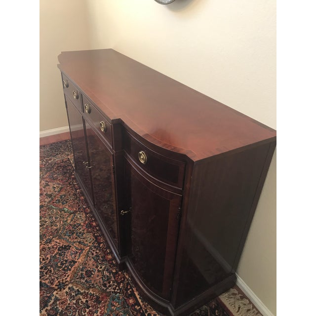 American Classical Baker Historic Charleston Credenza For Sale - Image 3 of 4