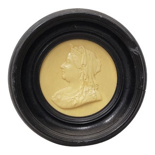 19th Century Queen Victoria Framed Composite Portrait For Sale