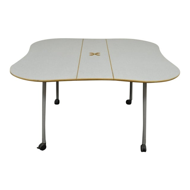 Herman Miller Intersect Group Butterfly Foldaway Drop Side - Fold away conference table