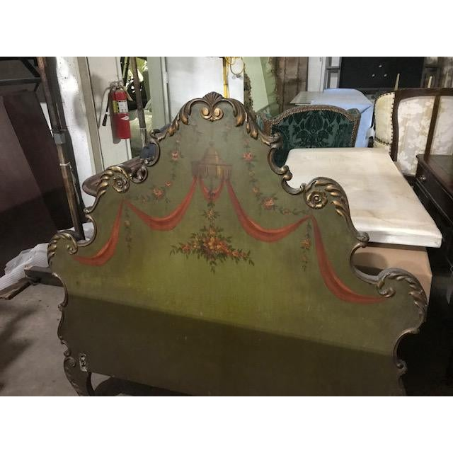 19th Century Venetian Style Twin Beds - a Pair For Sale - Image 12 of 13