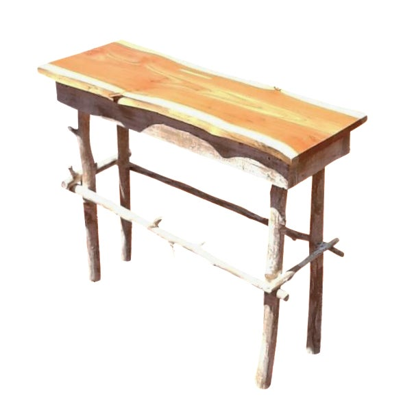Rustic Red Cedar Table - Image 1 of 5