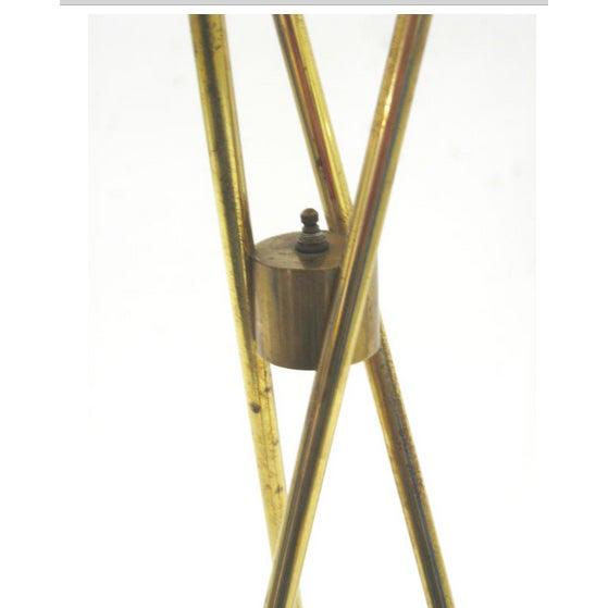 Gerald Thurston Lightolier Tripod Floor Lamp - Image 3 of 3