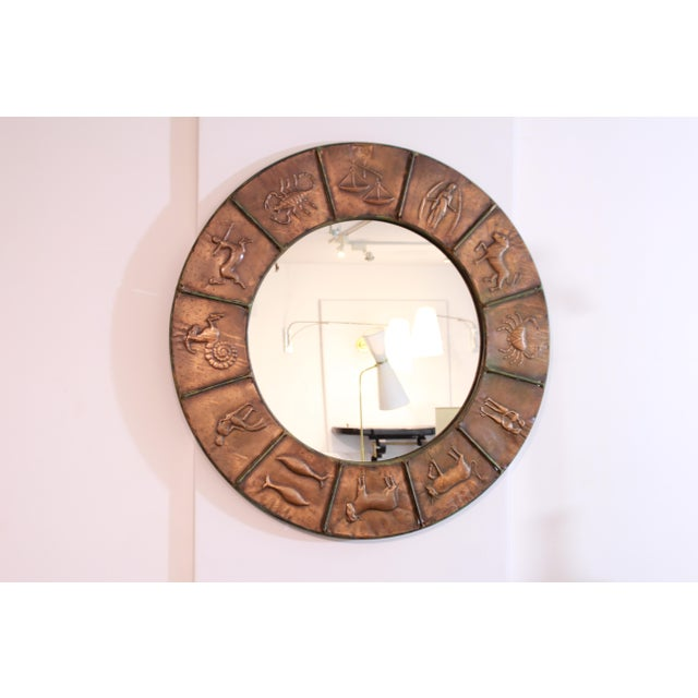 Astrology Relief Mirror For Sale - Image 4 of 9
