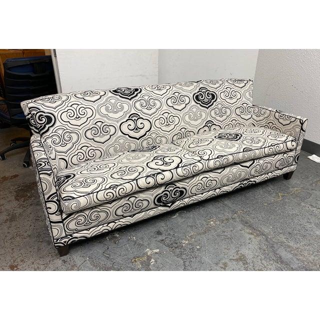 A. Rudin Osborne & Little Fabric Custom #2612 Sofa For Sale - Image 10 of 12