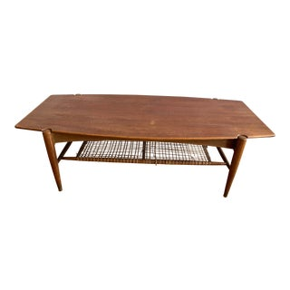 Vintage Mid-Century Modern Dux Coffee Table For Sale