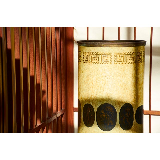 1950s Piero Fornasetti Umbrella Stand, Early Example, Circa 1950's For Sale - Image 5 of 9