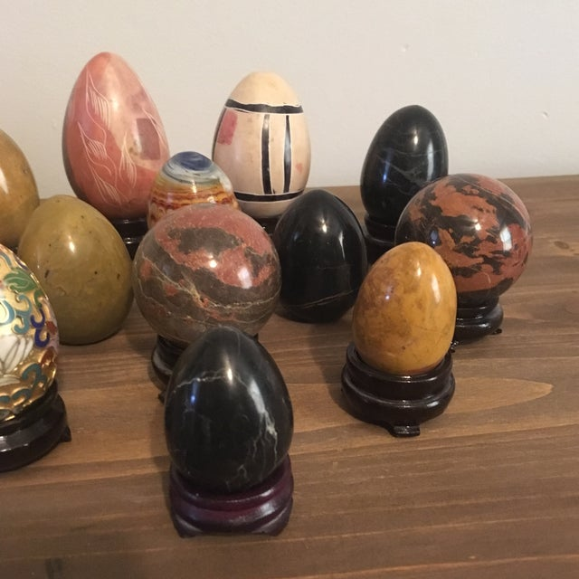 Assorted Decorative Eggs - Set of 13 - Image 4 of 11