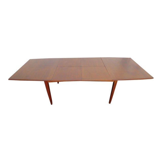 Danish Modern Butterfly Leaf Dining Table Made by Falster For Sale