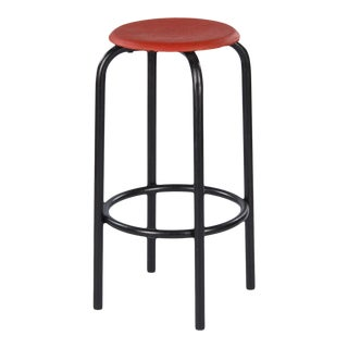 1950s Vintage French Industrial Stool For Sale