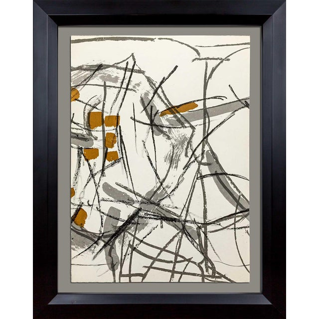 Jean-Paul Riopelle Original Lithograph - Image 1 of 3