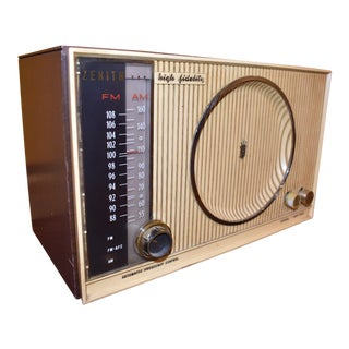 Vintage Zenith High Fidelity Tube Radio