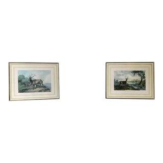 Antique 1845 Joseph Rogerson Prints - A Pair For Sale