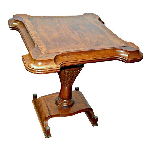 Vintage Wooden Side Table For Sale