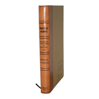 Christopher Columbus Fascimile of His Own Book of Privileges 1502, Mexico 1992 For Sale