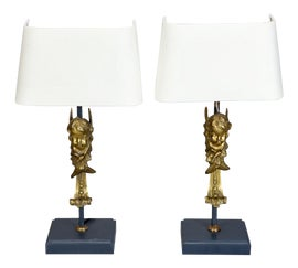 Image of Bronze Table Lamps