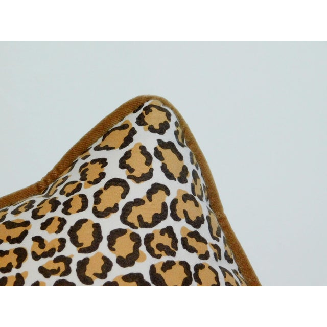 Cheetah Print Lumbar Pillow For Sale - Image 4 of 7