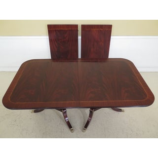 Traditional Henkel Harris Flame Mahogany Dining Room Table Preview