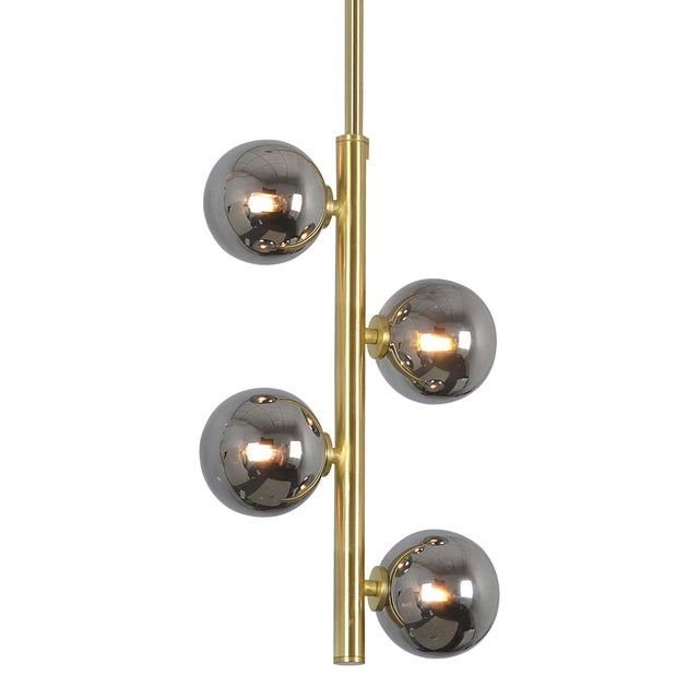 Bringing character and class to the mid-century space, this ceiling light fixture holds an ideal blend of vintage and...
