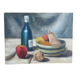 1960's Still Life Painting For Sale