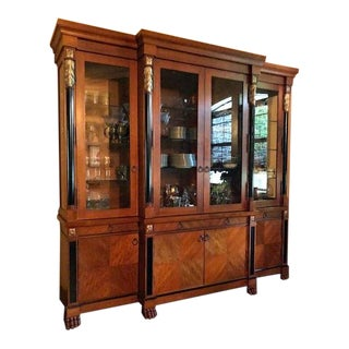 Italian Empire China/Display Cabinet For Sale
