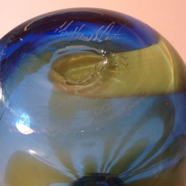 Super Blenko Designer Series Drag Loop Vase - Image 5 of 6