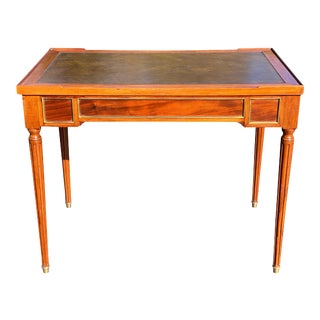 Louis XVI Style Mahogany Games Table For Sale