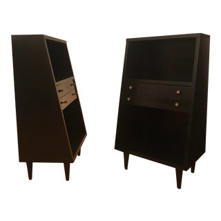 1960s Mid Century Modern American of Martinsville Nightstands-A Pair For Sale